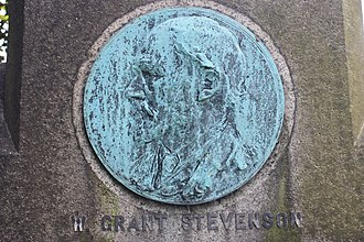 William Grant Stevenson - Memorial to William Grant Stevenson, by Henry Snell Gamley