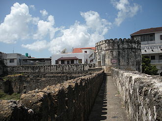 Zanzibar - The old castle in Zanzibar