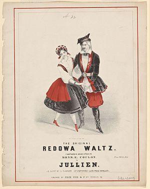 Redowa - Image: The original Redowa waltz (NYPL b 19606977 5096616)
