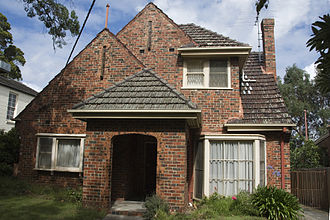 Canterbury, Victoria - Residential home in Canterbury.