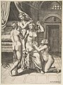 The toilet of Psyche who is seated in the centre being attended to MET DP812754.jpg