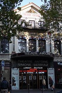 Théâtre Antoine-Simone Berriau theatre in Paris