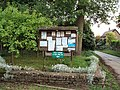 Thenford village notice board - geograph.org.uk - 436366.jpg