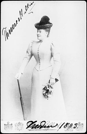 Therese Malten - Therese Malten in 1883
