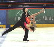 A straight line dance lift