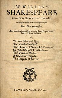 Shakespeare apocrypha plays and poems occasionally attributed to Shakespeare but not generally accepted