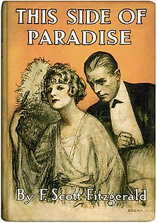 <i>This Side of Paradise</i> 1920 novel by F. Scott Fitzgerald