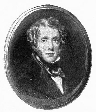 Thomas Crane - Self-portrait, around 1840