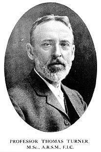 Thomas Turner (metallurgist) British metallurgist