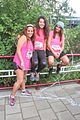 Three women before the start of the Ladiesrun.jpg