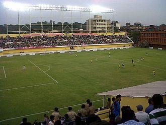 Churchill Brothers S.C. - Tilak Maidan Stadium on a matchday