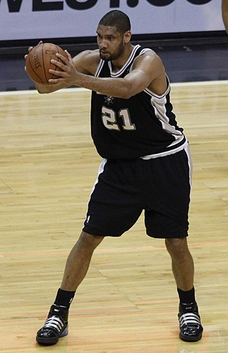NABC Defensive Player of the Year - Tim Duncan is one of three players to win the award three times.