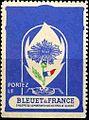 Timbre publicitaire Bleuet de France.jpg