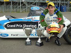 Tio Ellinas - Tio Ellinas as a Formula Ford driver in 2010.