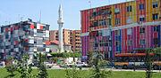 Tirana - Colourful houses at Lana.jpg