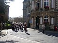 Tiverton , Royal Marine Band and Tiverton Town Hall - geograph.org.uk - 1272113.jpg