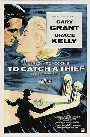 To Catch a Thief - Original film poster