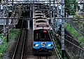 Tobu 51056 (Crayon Shinchan blue) Miyamaedaira Station 20170507 (cropped).jpg