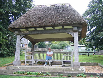 Tolpuddle Martyrs - The shelter erected as a memorial in 1934