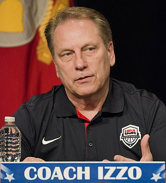 Tom Izzo - Izzo speaking at The Pentagon in May 2014