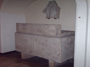 Pope Pius III - Former tomb of Pius III