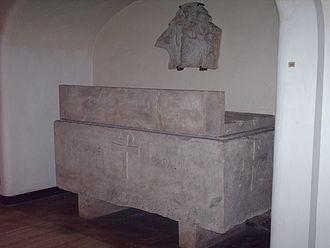 Pope Pius III - Former tomb of Pius III
