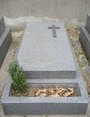 Henri Queffélec - His grave in Montrouge Cemetery (Paris).