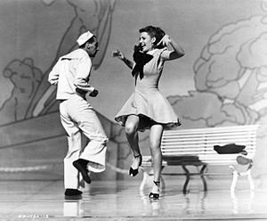 Jack Cole (choreographer) - Cole and Rita Hayworth in Tonight and Every Night (1945)