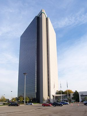 Troy, Michigan - The Top of Troy is the tallest building in the city.