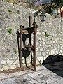Torchio oleario a vite (Olive oil press) - Gallicianò - Condofuri (Reggio Calabria) - Italy - 17 Jan. 2015.jpg