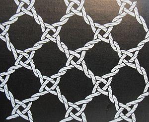 Bobbin lace ground - Image: Torchongrund