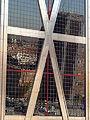 Torres Kio, estructura y vidrio, Madrid, España, 2015.JPG