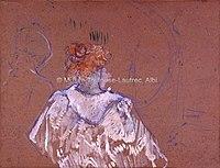 Toulouse-Lautrec - FEMME ROUSSE VUE DE DOS EN PEIGNOIR, 1894, MTL.170.jpg