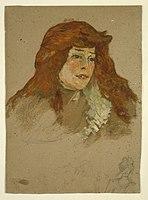 Toulouse-Lautrec - Mme Lili Grenier (recto), 1885-88.jpg