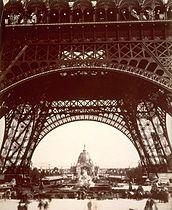 Tour Eiffel exposition universelle 1889