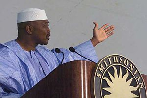 2012 Malian coup d'état - Malian President Amadou Toumani Touré was ousted during the March 2012 coup d'état