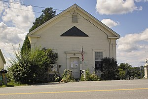 Monkton, Vermont - Monkton town hall