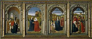 Triptych of the Virgin's Life