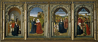 triptych by Dieric Bouts