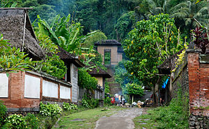 Traditional village, Bali.