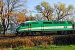 Trainspotting GO train -440 headed by MPI MP40PH-3C -615 (8123531472).jpg
