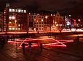 Trammplatz Lichteraktion 70 Jahrestag Deportation Riga.jpg