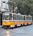 Tramway in Sofia in Alabin Street 2012 PD 059.jpg