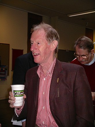 Trevor West - Trevor West at the Westfest Meeting in Trinity College Dublin in 2005