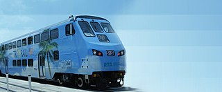 Commuter rail service in South Florida