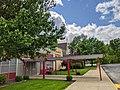 Trinity Catholic High School in St. Louis County entrance.jpg