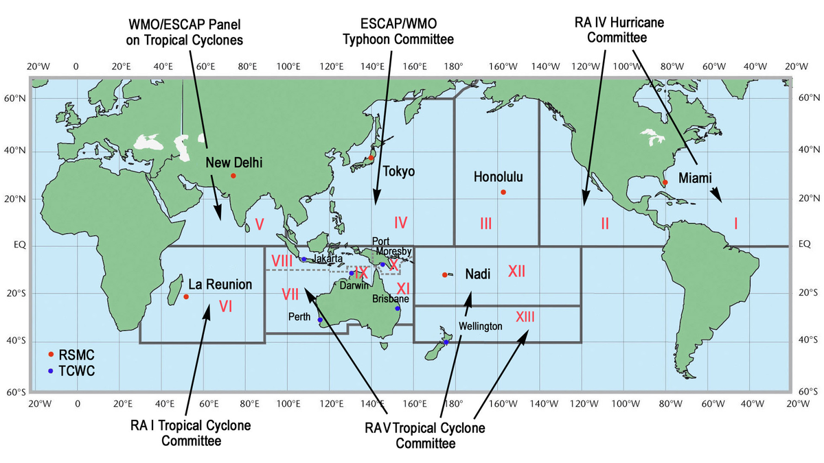 Tropical cyclone basins - Wikipedia