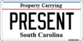 Truck South Carolina Plate EE.png
