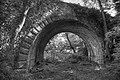 Tunnel Voie Ferrée Gorges Loire NB.jpg