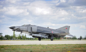 Turkish Air Force - F-4E 2020 Terminator at the 3rd Air Force Base in Konya